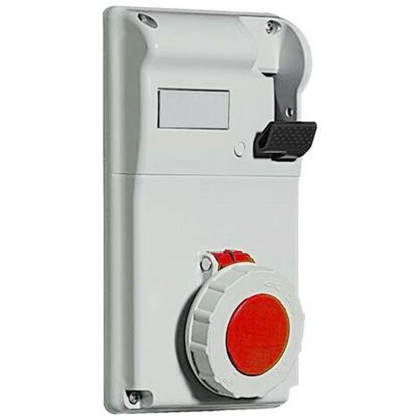 Interlocked-interrupteur prise de courant Legrand Durcissement 3P+N+T 3X32A+NT 400V IP55 057234