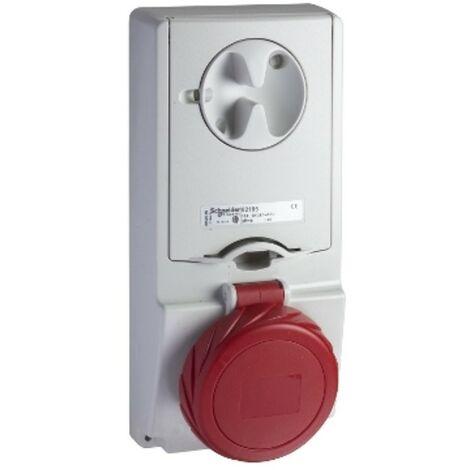 Interlocked-interrupteur prise de courant, Schneider, vertical, 3X16A+T 400V IP65 82185
