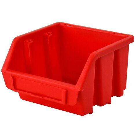Interlocking Storage Bin Size 1 Red 116 x 112 x 75mm (FAITBBIN1)