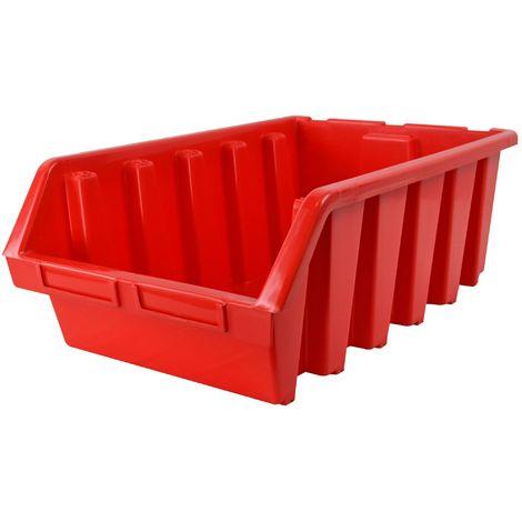 Interlocking Storage Bin Size 5 Red 333 x 500 x 187mm