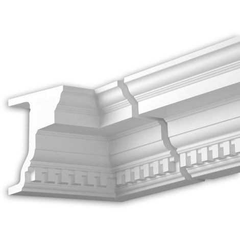 Internal angle joint element Profhome 432321 Facade moulding Corner element Facade element timeless classic design white
