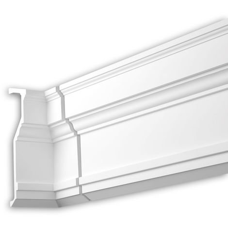 Internal angle joint element Profhome 481022 Facade moulding Corner element Facade element Neo-Classicism style white