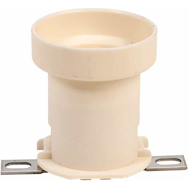 Image of SH96 E27 Lamp Holder Plastic ES - International Lamps