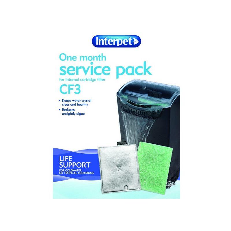 Image of Interpet 1 month Service Kit CF3 x 1 (69610)