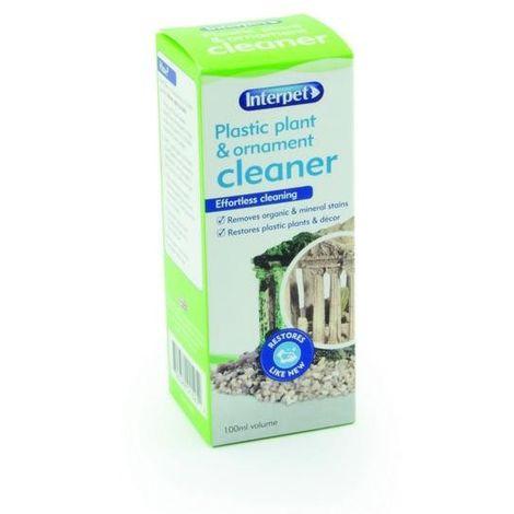 Interpet Plastic Plant & Ornament Aquarium Cleaner Liquid (100ml) (May Vary)
