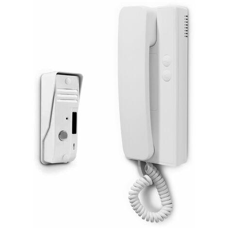 Interphone audio 2 fils - avidsen -