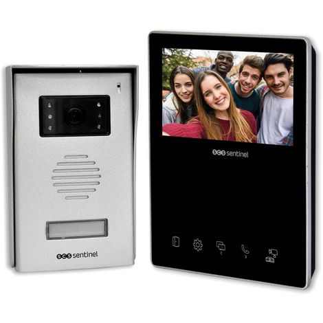 Interphone vidéo 2 fils, VisioKit 4.3, VisioKit 4.3