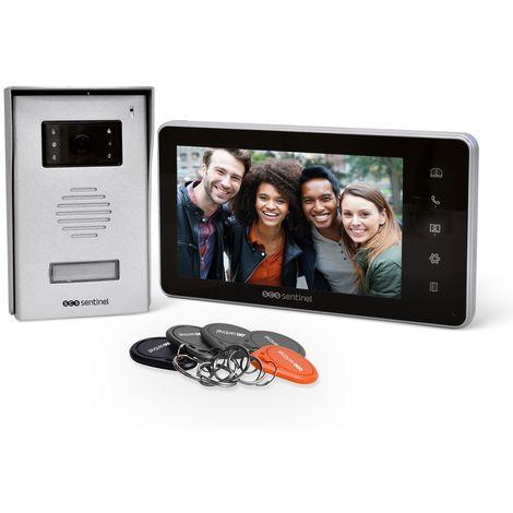 Interphone vidéo avec badges RFID, VisioKit 7 RFID, VisioKit 7 RFID