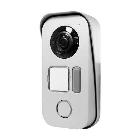 Interphone vidéo Avidsen 112273 2 fils Station extérieure 1 foyer argent 1 pc(s)