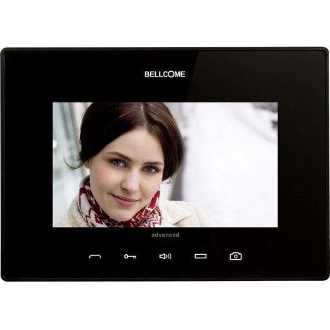 Interphone vidéo Bellcome VTA.7S902.BLB04 filaire Station intérieure noir 1 pc(s)