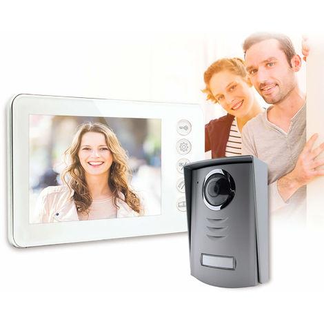 Interphone Vidéo Couleur - 4 fils -