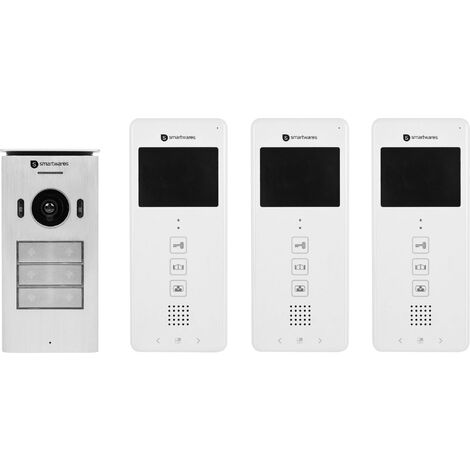 Interphone vidéo DIC-22132 blanc X981221