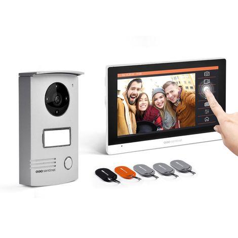 Interphone vidéo filaire avec badges, VisioDoor 7+ RFID, VisioDoor 7+ RFID