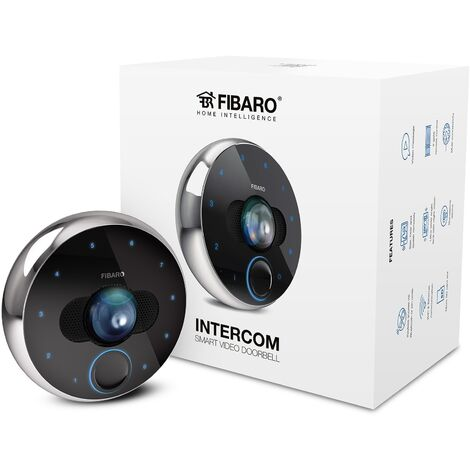 Interphone vidéo IP - Fibaro - {couleurs}