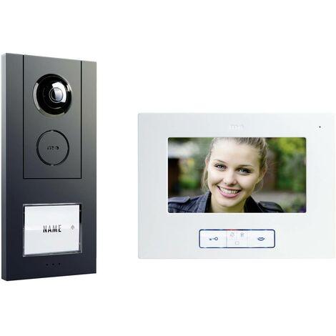 Interphone vidéo m-e modern-electronics VISTUS VD ALU-6710 A 41175 filaire anthracite 1 pc(s)