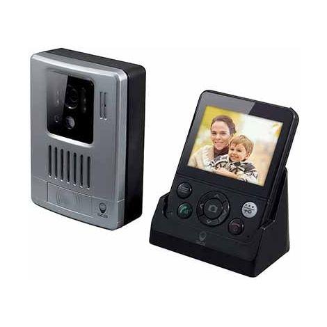 Interphone vidéo sans fil 200M, WDP-200, WDP-200
