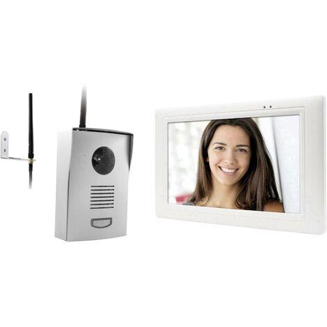 Interphone vidéo Thomson 512268 radio Set complet 1 foyer blanc, gris 1 pc(s) C226651