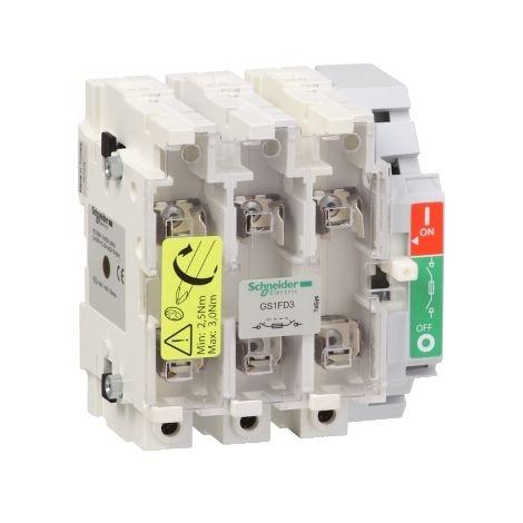 INTERR.-SECC. 50A 3P INT./EXT. LATERAL SCHNEIDER ELECTRIC GS1FD3