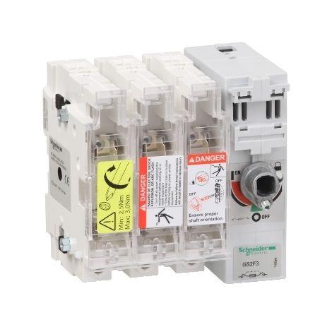INTERRUPT SECC FUSIBLE 3X 50A 14X51 SCHNEIDER ELECTRIC GS2F3