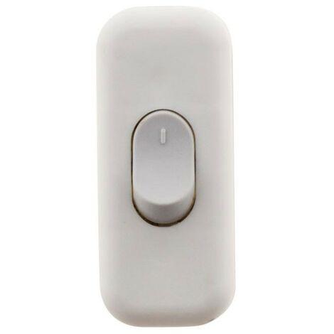 Interrupteur 2A Bipolaire Blanc, Noir ou Or