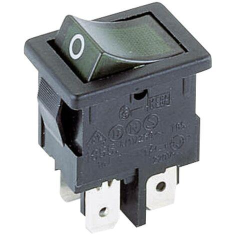 Interrupteur à bascule Marquardt 1855.0108 1855.0108 250 V/AC 4 A 2 x Off/On IP40 à accrochage 1 pc(s)
