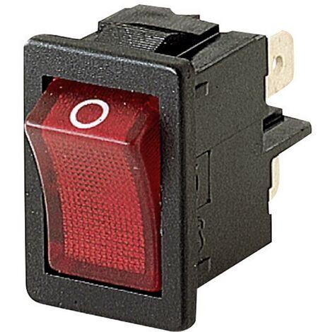on on IP65 momentan/é//0 fa/çade Avant MARQUARDT Interrupteur /à Bascule 01939.3314-01 1939.3314 250 V//AC 14 A 2 x //Off//