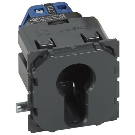 Interrupteur à clé 2 positions Céliane 2NO 10A 230V (067009)