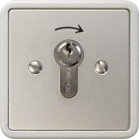 Interrupteur à clé pour motorisation de portail encastré Kaiser Nienhaus 322700