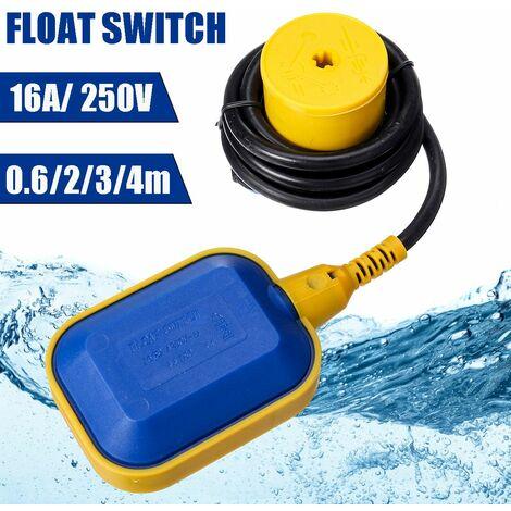Interrupteur à flotteur Contr?leur de niveau de réservoir d'eau Capteur de fluide liquide Pompe de l'entrepreneur (0,6 m)
