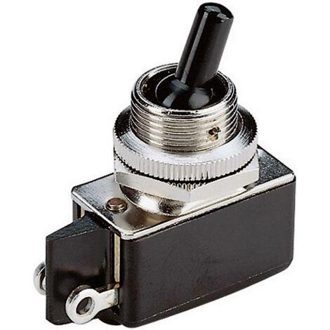 Interrupteur à levier 1 x Off/On Marquardt 0100.1201 250 V/AC 2 A à accrochage 1 pc(s)