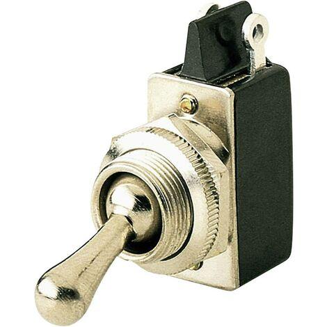 Interrupteur à levier 1 x Off/On Marquardt 0101.0601-00 250 V/AC 2 A à accrochage 1 pc(s)