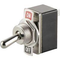 Interrupteur à levier 1 x Off/On TRU COMPONENTS TC-R13-2-05 1587664 250 V/AC 1.5 A à accrochage 1 pc(s)