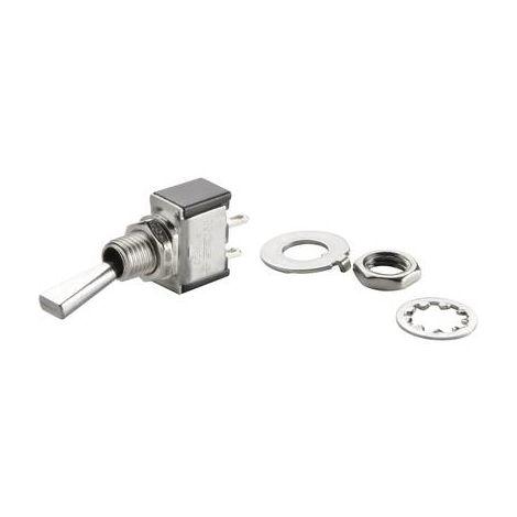Interrupteur à levier 1 x Off/On TRU COMPONENTS TC-TA101F1 1587776 250 V/AC 3 A à accrochage 1 pc(s)