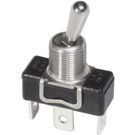 Interrupteur à levier 1 x On/On APEM 1016 250 V/AC 3 A à accrochage 1 pc(s)