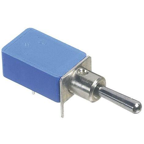 Interrupteur à levier 1 x On/On APEM 21236NA 250 V/AC 2 A à accrochage 1 pc(s)