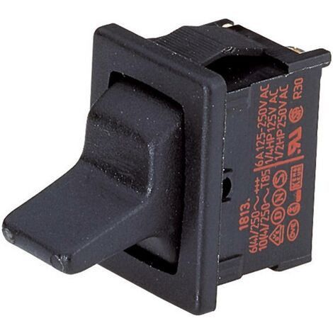 Interrupteur à levier 1 x On/On Marquardt 1813.1102 250 V/AC 10 A à accrochage 1 pc(s)