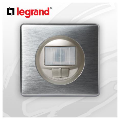 Interrupteur automatique complet Ecodétecteur Legrand Celiane Alu Métal