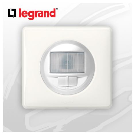 Interrupteur automatique complet Ecodétecteur Legrand Celiane Blanc Glossy Yesterday