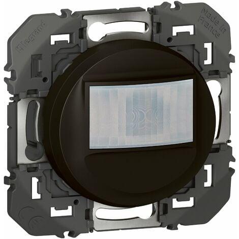 Interrupteur automatique - Dooxie 2 fils sans neutre - Noir - Legrand