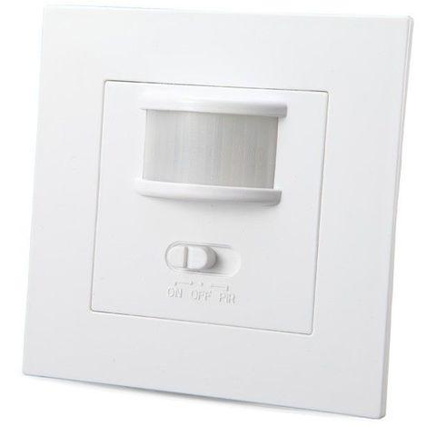 Interrupteur automatique LED avec détecteur infrarouge et marche forcée