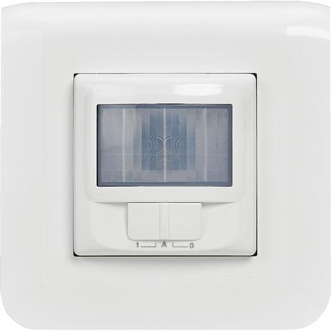 Interrupteur automatique Mosaic - Complet - Avec griffes - Blanc - Legrand