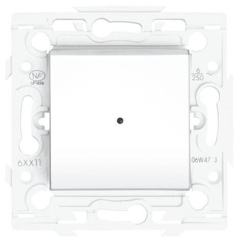 Interrupteur Blanc voyant lumineux - Arnould Espace Lumière