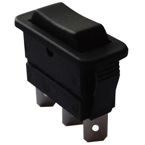 Interrupteur commutateur contacteur bouton /à bascule noir SPST ON-OFF 16A//250V 20A//28V 2 positions AERZETIX