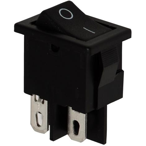 Interrupteur commutateur contacteur bouton à bascule DPST ON-OFF 10A/250V 10A/28V 2 positions