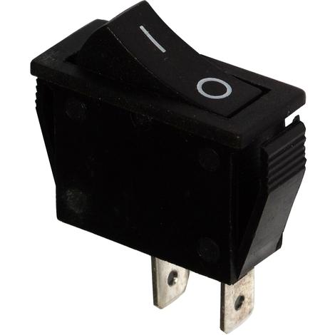 Interrupteur commutateur contacteur bouton à bascule noir SPST ON-OFF 15A/250V 2 positions