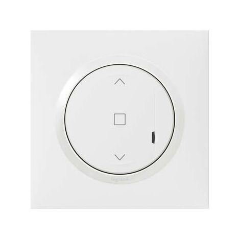Interrupteur connecté pour volet roulant - Dooxie with Netatmo - Blanc
