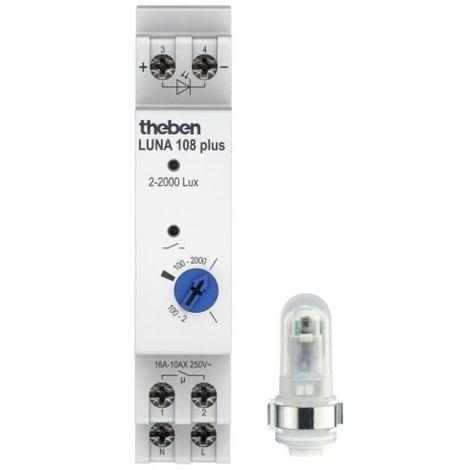 Interrupteur crépusculaire analogique LUNA 108 + AL