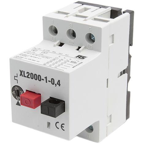Interrupteur de protection moteur RS PRO, 690 V, 0,24 → 0,4 A