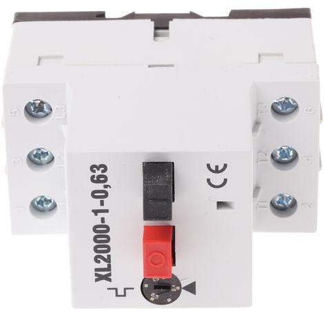 Interrupteur de protection moteur RS PRO, 690 V, 0,4 → 0,6 A