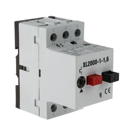 Interrupteur de protection moteur RS PRO, 690 V, 1 → 1,6 A